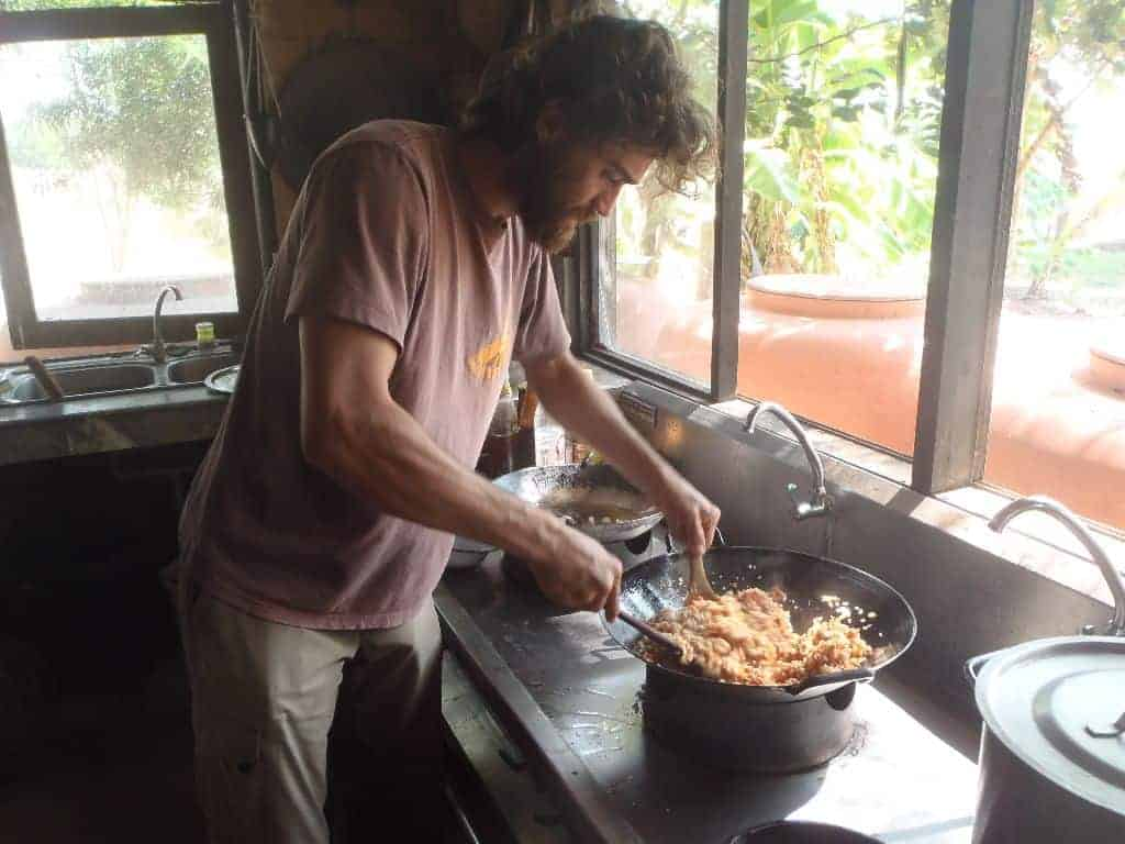 Permaculture Design Course Thailand Cooking 41