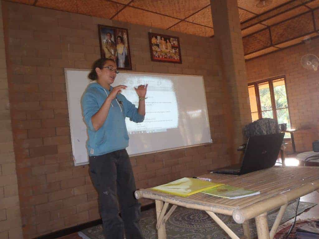 Permaculture Design Course Thailand Master Plan Presentations December 2013 062