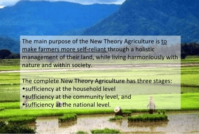 New Theory Farming System in Thailand and Permaculture 1