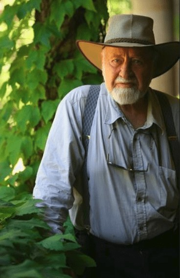Bill Mollison Founder of Permaculture Design in Permaculture Design Diploma 1