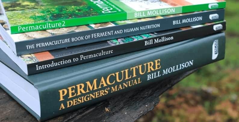 Permacultrue Design Diploma Course Curriclium Core Books