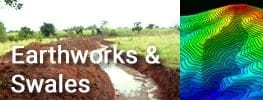 Earth Works and Swales in Online Permaculture Course