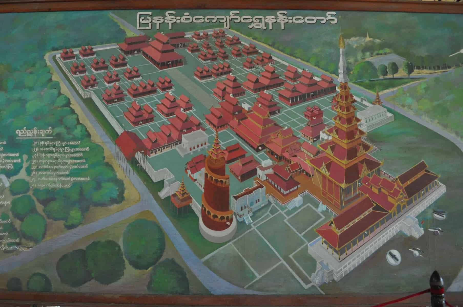 Mandalay Hill Memeory Palace in Permaculture Master Planning