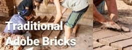 Online Permaculture Design Course Natural Building Course Traditional Adobe Bricks