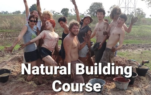 Natural Building Course Thailand Asia