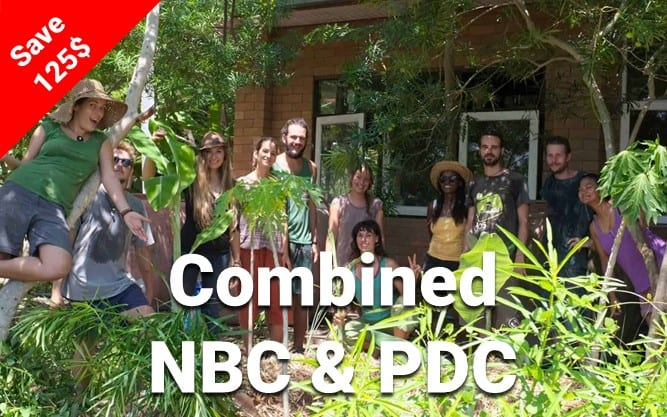 Image of the Combined Natural Building and Permaculture Course